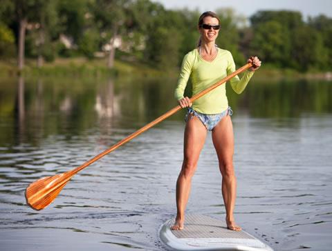 lac paddleboard femme